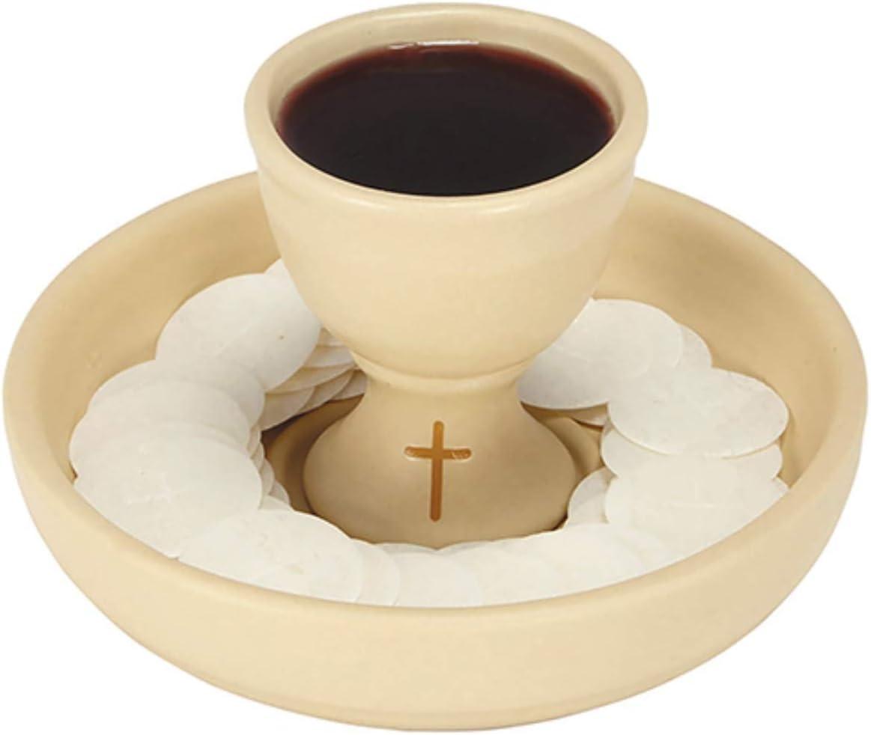 Sudbury trust Ceramic Communion Intinction Set Sales with 6 Bowl 8 Inch 3
