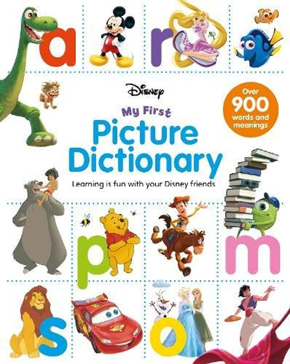 スキルスロー範囲Disney My First Picture Dictionary: Learning is Fun with Your Disney Friends (First Reference)
