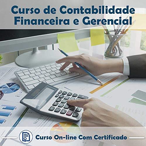 Curso online em videoaula de Contabilidade Financeira e Gerencial com Certificado + 2 brindes