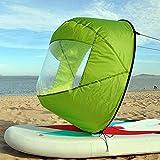 QLING - Kit per vela per kayak, canoa, canoa a vento, accessori compatti per barche gonfia...
