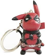 deadpool pikachu keychain