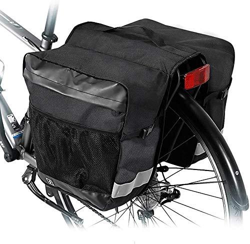 ZLYY Tasche 28L wasserfeste Fahrrad Rücksitz Kofferraumtasche Fahrrad Rücksitz Satteltaschen Zubehör Hecktasche Rücksitz Tasche