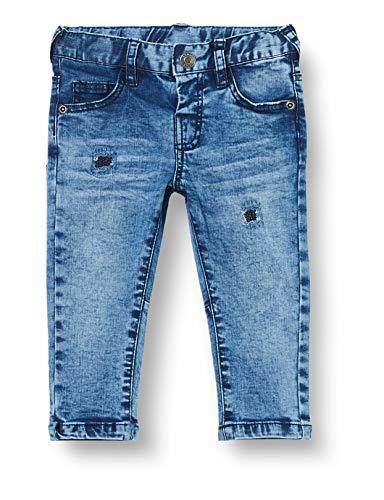Brums Baby-Jungen Pantalone Denim Stretch Con Rotture Jeans, Grau (Stone Wash 01 148), 98 (Herstellergröße: 3A)