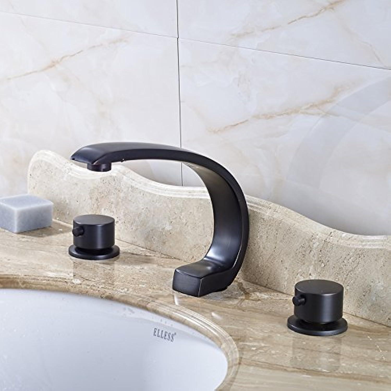 U-Enjoy High-Grade Best Design Top-Qualitt Wasserfall Verbreitete Mischbatterien Startseite Badezimmer Küche Orb [Kostenloser Versand]