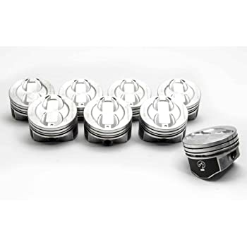 4.020 bore Hypereutectic Pistons /& Moly Rings Combo compatible with 1996-2002 Chevy 350 Vortec 5.7 H815DCP Click size needed before placing in Cart!!