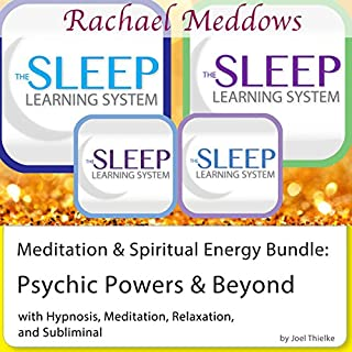 Meditation & Spiritual Energy Bundle: Psychic Powers and Beyond - Hypnosis and Subliminal - The Sleep Learning System with Rachael Meddows cover art
