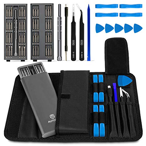 AUTOXEL Precision Screwdriver Set, 62 Pcs Magnetic Driver Electronics Repair Tool Kit for Laptop, Cellphone, Watch, PC, Computer, Tablet, Camera, Gamepad