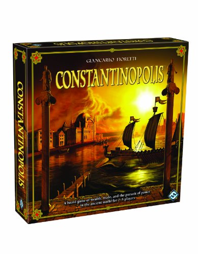 Constantinopolis Board Game: A Board Game of Wealth, Trade, and the Pursuit of Power in the Ancient World for 2-5 Players