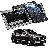 Chargeur de Voiture Sans Fil pour Mazda Cx5 2017 2018 2019 2020 Panneau D'Accessoires de Console...