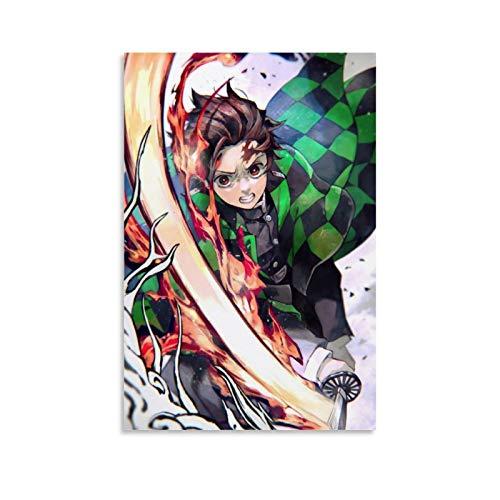 MRFSY Impresión de demonios para decoración de pared, arte para dormitorio, baño, decoración del hogar, 20 x 30 cm