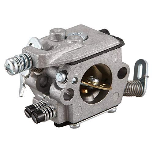 Kaxofang Carb carburador para 025 023 021 MS250 MS230 reemplazo de Motosierra zama walbro de Color de Plata