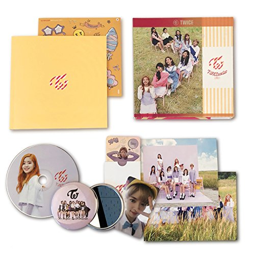 TWICE 3rd Mini Album - TWICECOASTER : LANE 1 [ APRICOT Ver. ] CD + Photobook + Photocards + Sticker + FREE GIFT/K-pop Sealed