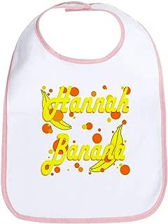 CafePress Hannah Banana Bib Cute Cloth Baby Bib, Toddler Bib