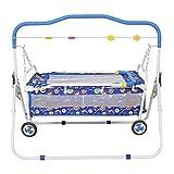 ORRIL ZOSHOMI-J2 Kick and Play Crib Cum Baby Bedding Set with Mosquito Net