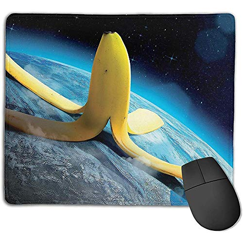 rutschfeste Mousepad Persönlichkeit Desings Gaming Mousepad Raum-Banane erobern Welt