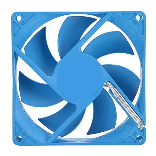 Ventilador silencioso para caja de PC, 1500 RPM 25.6CFM 12V / 0.16A Ventilador silencioso para caja de PC Disipador de calor 19dBA Bajo nivel de ruido Gran volumen de aire Refrigeración silenciosa