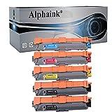 Alphaink 5 Toner compatibili con TN-245 TN-241 per Brother HL3140 TN241 HL3140 HL3140CW HL3150 HL3150CDW HL3170CDW DCP9020CDW MFC9130CW MFC9140 MFC9330CDW MFC9340CDW