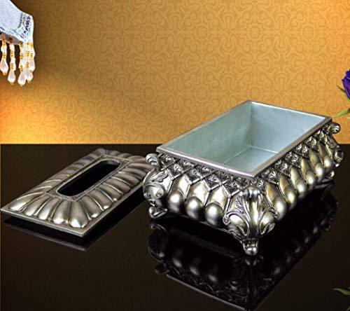 JIE decoratie hoogwaardige Europese stijl retro handdoek box luxe decoratie servetten box pompen karton servetten doos papieren handdoek opbergdoos