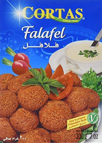 Cortas Fertigmischung für Falafel, 4er Pack (4 x 200 g)