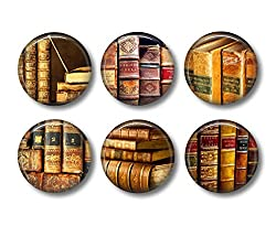 gifts for book lovers that aren't books ~ Book Magnets