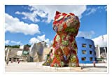 AZSTEEL Puppy by Jeff Koons, Bilbao Printed On Premium