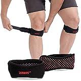 Proberos® 1 Pack Knee Patella Support Strap, Adjustable Knee Brace and Best Patellar