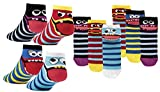 socksPur SOCKS PUR SNEAKER FÜR GIRL and BOY (31/34, Freche Bande: 3er-Bündel vorsortiert)