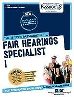 Fair Hearings Specialist I (Career Examination)
