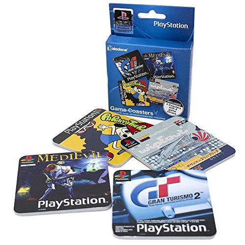 Playstation - Cover - Untersetzer 4er-Set | Original Playstation