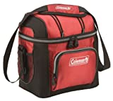 Coleman 9-Can Soft Cooler with Removable Liner, Red