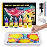 Water Marbling Paint for Kids - Arts and Crafts for Girls & Boys Crafts Kits Ideal Gifts for Kids Age 3-5 4-8 8-12