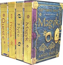 Septimus Heap Collection 4 Books Set Pack RRP: £27.96 ( Magyk, Flyte, Physik, Queste ) (Septimus Heap)