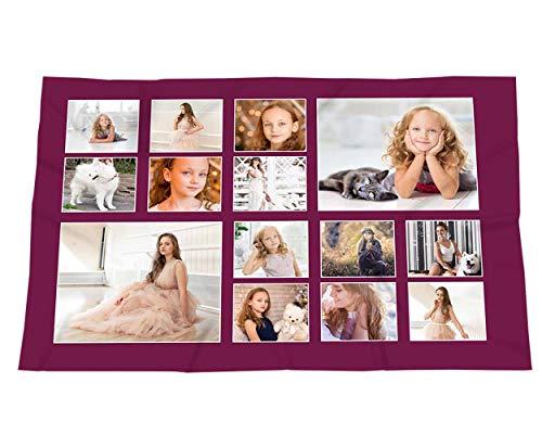 Manta personalizada con tu foto. Manta polarKing Size - 150 x 240 cm.