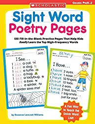 write sight words in this resource by scholastic