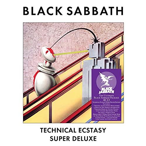 Black Sabbath: Technical Ecstasy (Super Deluxe) (Audio CD (Box Set))