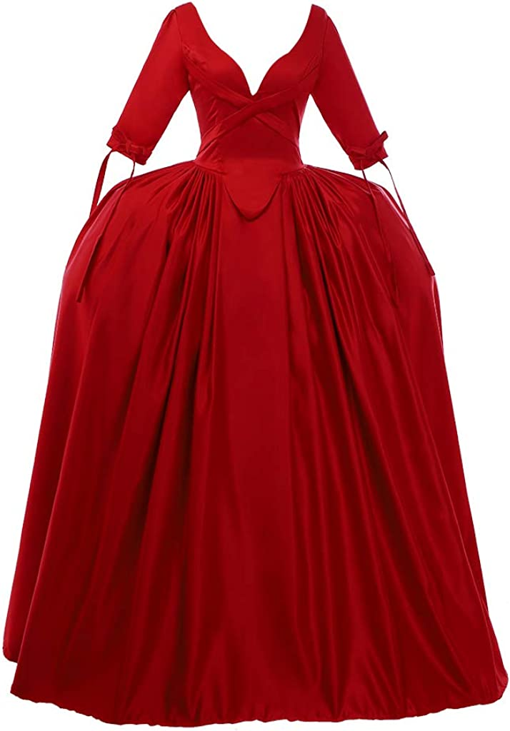 1791's lady Women's Spring new work Victorian Direct stock discount Rococo Dress Maiden Co Inspiration