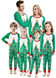 Matching Family Pajamas Halloween Pjs for Boys Glow in Dark 2 Pieces Skull Pattern Pyjamas for Women...
