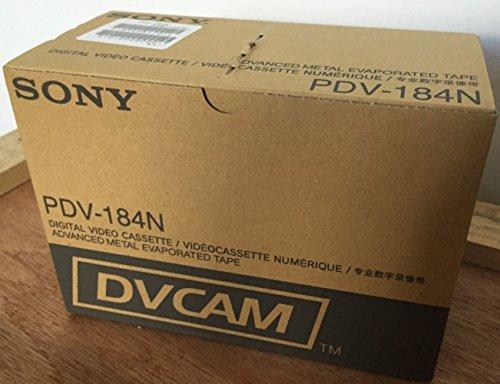 Fantastic Deal! Sony PDV-184N DVCAM 184min Data Tape Cartridge - Box of 10 - Made in Japan