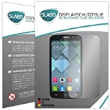 2 x Slabo Bildschirmschutzfolie Alcatel One Touch Pop C7 Bildschirmschutz Schutzfolie