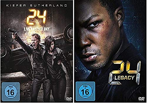 24 Live Another Day Staffel 9 + 24 Legacy Staffel 1 / DVD Set