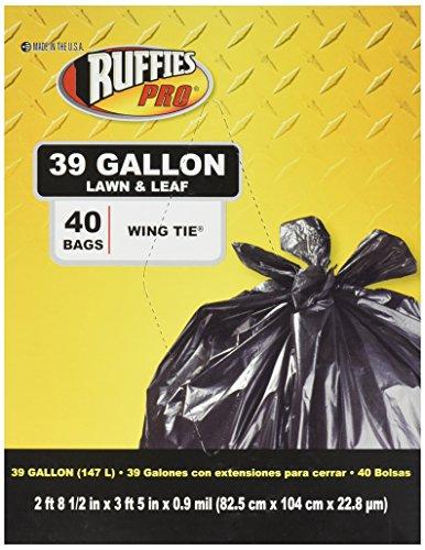 Tuffsak 40 Count 39 Gallon Lawn & Leaf Bags 618871(RP107B