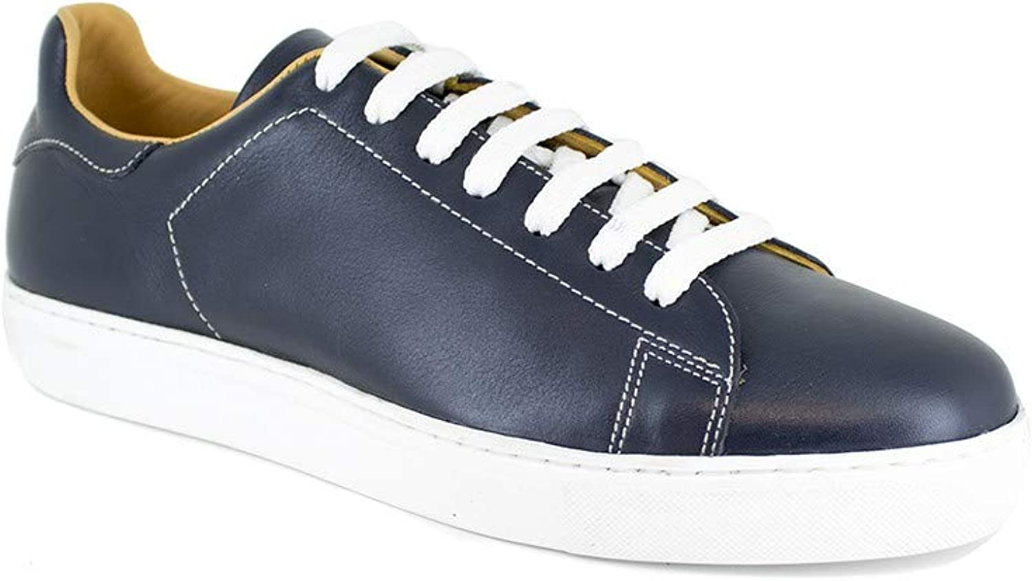 Peter Blade Sneaker Navy bluee Leather LE TOUQUET