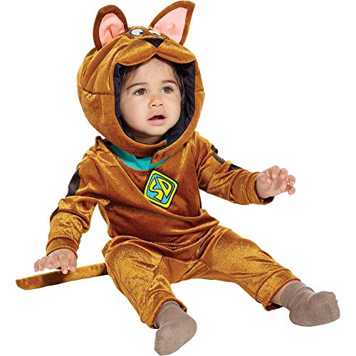 Jerry Leigh Scooby Doo Halloween Costume for Babies, 12-24 Months, Includes Jumper and Headpiece