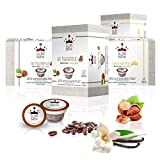 GLORYBREW - 48 Pack Hazelnut & Vanilla Flavored Keurig Coffee Pods - Medium Roast and 100% Compostable for Keurig K-Cup Brewers - Rainforest Alliance Certified | Better than Biodegradable