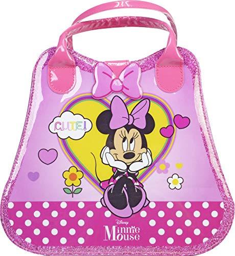 Markwins Mouse Weekender-Neceser, Set Niñas Minnie-Selección de Productos Seguros en un Maletín...