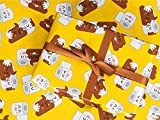 Gift Wrapping Paper 30' x 84' Sheet Vintage Style (Poop Emoji)