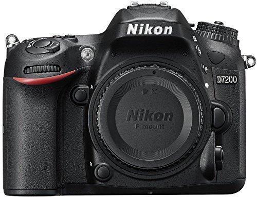 Nikon D7200 24.2MP Digital SLR Camera Body Only (Black) with Card, Camera Bag