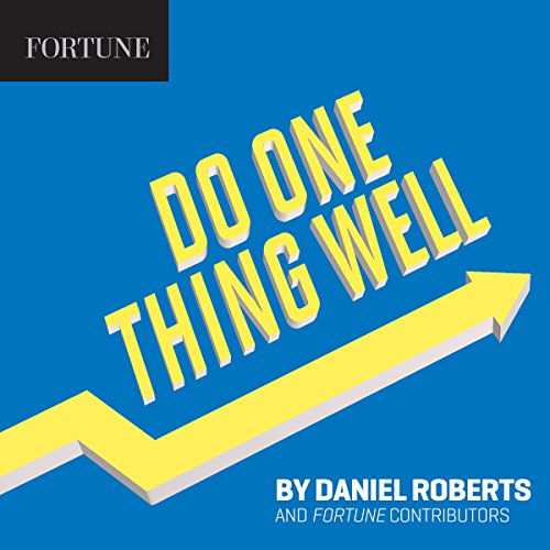 Do One Thing Well audiobook cover art