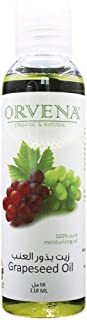 Orvena Grapeseed Oil 118 ML For Hair and Body