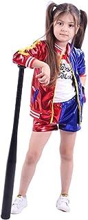 unbrand Adulto Niños Chica Harley Quinn Disfraz de Cosplay